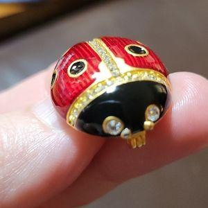 Vintage Multilana Ladybug Brooch